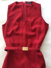 Lauren Ralph Lauren Jumpsuit Red Jumpsuits Rompers For Women Ebay