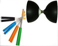 verschiedene Grifffarben zur Auswahl Henrys Diabolo Handstäbe Aluminium 325