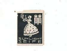 C6403         advertising  EARLY POSTER STAMP  SUNLIGHT SOAP SEIFE