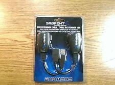Sabrent USB-RJXT USB Extension Cable Kit Over Cat5e RJ45 Extender Adapter