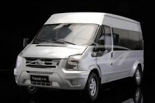 Diecast Car Model Jiangling Ford Transit 1:18 (Silver) + GIFT!!