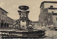 Faenza Fontana Monumentale (Disegno di D: Castelli 1620) f.g.