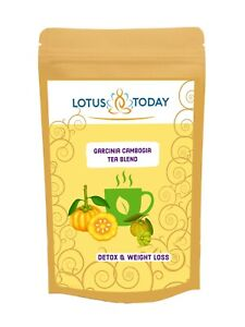 Garcinia Cambogia Herbal Tea Blend - Special Detox Diet Tea Slimming Weight loss