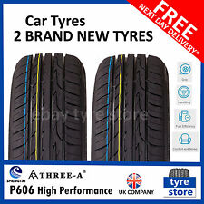 2 X New 245 40 18 THREE A P606 97W XL 245/40R18 2454018 *B WET GRIP*  (2 TYRES)