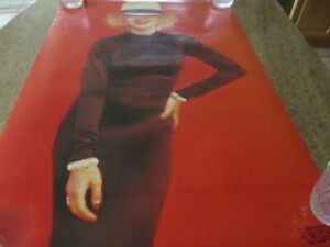 MADONNA DICK TRACY POSTERS (LOT OF 2) OSP 23'W X 35T----35' W X 23 TALL