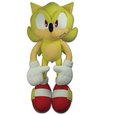 "New Great Eastern Sonic the Hedgehog 20"" Large Super Sonic Plush Toy (GE-52626)"