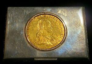 1811 Austria Gold Coin 4 Ducat Franciscvs II SILVER CASE VIENNA Georg Scheid