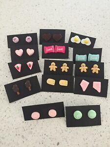 Foodies earrings handmade