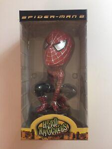 Neca Head Knocker Spider-Man 2 Bobble Head In Box RARE