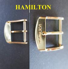 fibbia x cinturino orologio hamilton 14 17 original buckle watch strap vintage