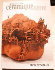 REVUE DE LA CERAMIQUE ET DU VERRE/F.BIESMANS/N°204/2015/DANIEL DE MONTMOLLIN