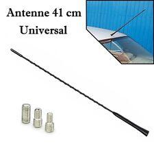 Universal 41 cm Schwarz Stab Antenne AM / FM DAB GPS GSM mit 3 Adapter M4 M5 M6