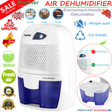 MINI DEHUMIDIFIER AIR PURIFIER MOISTURE DAMP HOME BEDROOM BATHROOM KITCHEN 500ML