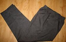 Y.T. SPORT MADE IN USA GRAY - 100% POLYESTER -  ELASTIC WAIST PANTS - 12