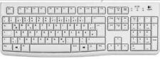 Logitech K120 NEU Office Tastatur weiß deutsch QWERTZ spritzwassergeschützt NEU