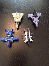 G1 Transformers Micromasters Decepticon Air Strike Patrol Flattop Vintage Lot 89