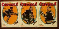 LOT OF 3 2001/02 TOPPS NHL HERITAGE PARALLEL CARDS Washington Capitals Kolzig