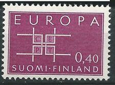 FINLANDIA EUROPA cept 1963 Sin Fijasellos MNH