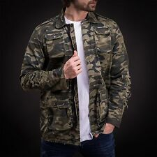 Coat Jackets Men's Fashion Ripped Slim Fit Seasonal Trench Zipper and Snap 3056