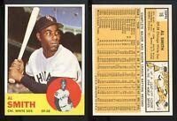 1963 Topps #16 Al Smith *White Sox* NM+ PSA MINSIZERQ **AA-8644**