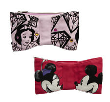 DISNEY COUTURE Make Up Pouch Cosmetic Brush Bag Zipper Pencil Case Mickey