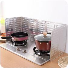 Caldo Argento Cucinare Olio Splash Protezione Gas Fornello Alluminio Utensile da