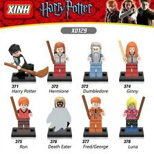 X0129 8 MINIFIGURE HARRY POTTER HERMOINE DUMBLEDORE DEATH EATER FITS LEGO NO BOX