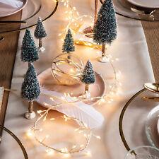 160er LED Cluster Weihnachts Lichterkette Warmweiß 2m Beleuchtung Lights4fun