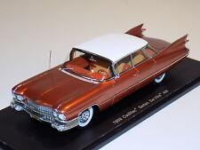 1/43 Spark Street Cadillac De Ville 4 Windows 1959 in Copper S2915