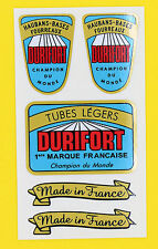 DURIFORT Champion Du Monde TUBE Cycle Bike Frame Decals Stickers metallic ink