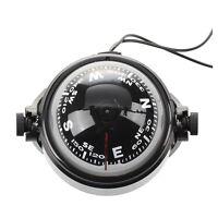 Boussole Compass LED Flottant Magnetique Navigation new Voiture Auto Marine L3L9