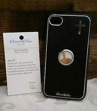 L@@K iPhone Case 4 4s Holy Element Israel Christian Black Cross NEW !!