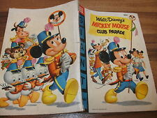 Walt Disney's: Mickey Mouse Club Parade # 1 -- Dell 1955 (Floyd Gottfredson)