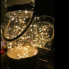 2M 20Leds Christmas Lights String LED Copper Wire Fairy Lights Festival Wedding