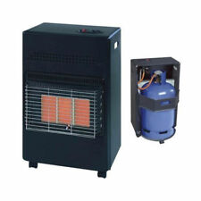 4.2Kw Portable Home Butane Fire Calor Gas Cabinet Heater With Regulator Hose DD1