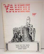 "Original Vintage Magazine ""Yahoo Umass Amherst Humor Magazine"" circa. 1970"