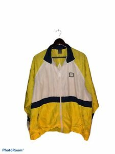 Vintage Nike Windbreaker Jacket XL 90s 2000s Vtg Big Swoosh Spell Out