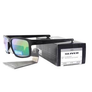Oakley OO 9262-38 Polarized Sliver Black w/ Prizm Shallow H2O Mens Sunglasses .