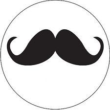 Un jour peut-être 24 comestibles papier de riz gâteau cup garnitures-Moustache u...