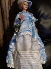 "Ashley Belle Young Lady Diana 3121/4800 Fine Bisque Porcelain 20"""