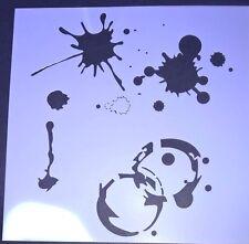 Pintura Símbolos Plantilla álbum de recortes capas de Decoración Hogar Decoración Craft