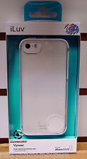 iLuv AI5VYNEWH for iPhone 5 Vyneer Case White