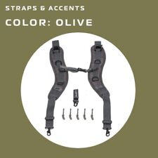 Push Backpack Strap Kit / Backpack Trageriemmen for Paintball Bags Olive