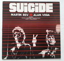 Suicide - Alan Vega  Marty Rev ‎- US LP + flexidisc - 1980 - RED 800