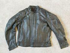 Richa Motorcycle Black Leather Jacket Size 56 CLEARANCE