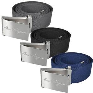 Ben Hogan Men's Adjustable Size Web Belt - One Size Fits Most - 3-Pack