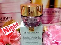 Estee Lauder Resilience Lift◆☾Night☽◆Face and Neck Creme◆5ml◆NIB~☾H/ *22% OUT!*☽