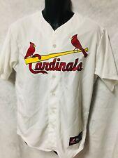 MLB ST LOUIS CARDINALS Majestic Polyester Baseball Jersey MEDIUM  NWOT