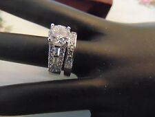 3.00ct Round Diamond Engagement Ring 14k White Gold