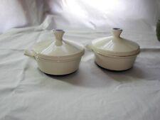 Mid Century Modern Vintage Fris Edam  Covered Soup Bowl Dutch Eames Beige